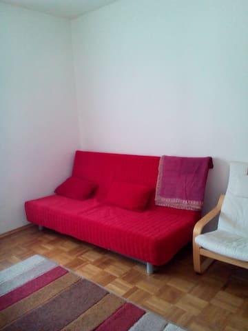 nice quiet room x nice quiet people - Meran - Departamento