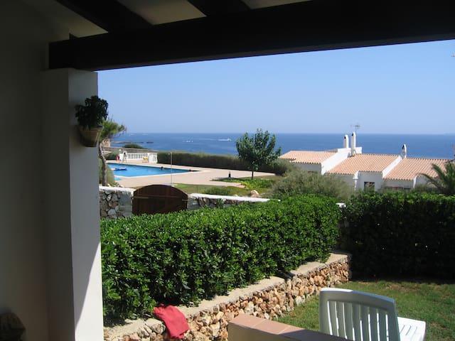 House with superb sea views - Sant Lluís Menorca - Huis