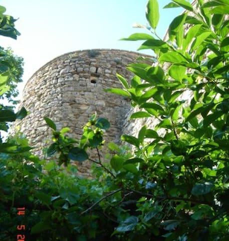 An Artist's Castle Tower in Umbria - Montefalco - Hus