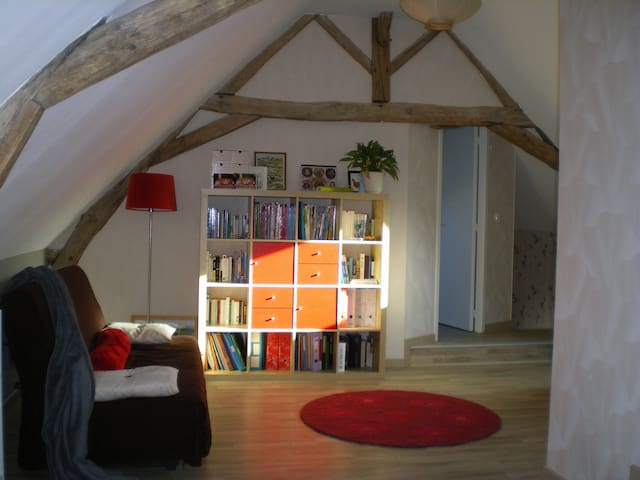 Charming bedroom for 2  - Accolay - Hus