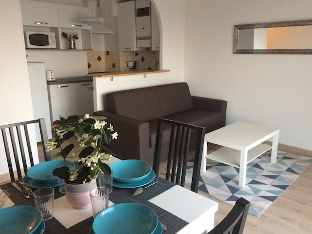 Charming apartment with sea view - Grasse - Departamento