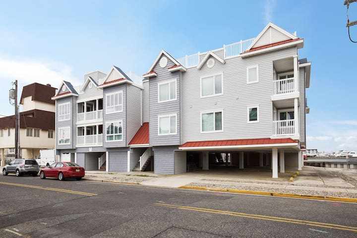 Two bedroom / two bath condo on the bay - Stone Harbor - Daire