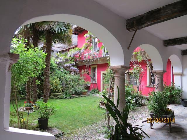 Accogliente bilocale nel verde - Miasino - Квартира