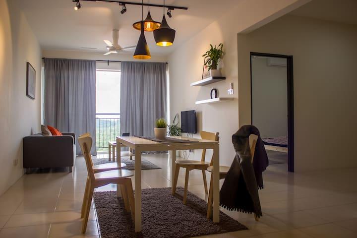 Bangi Cozy Condo Hijauan Heights UKM GMI Putrajaya - Kajang - Lägenhet