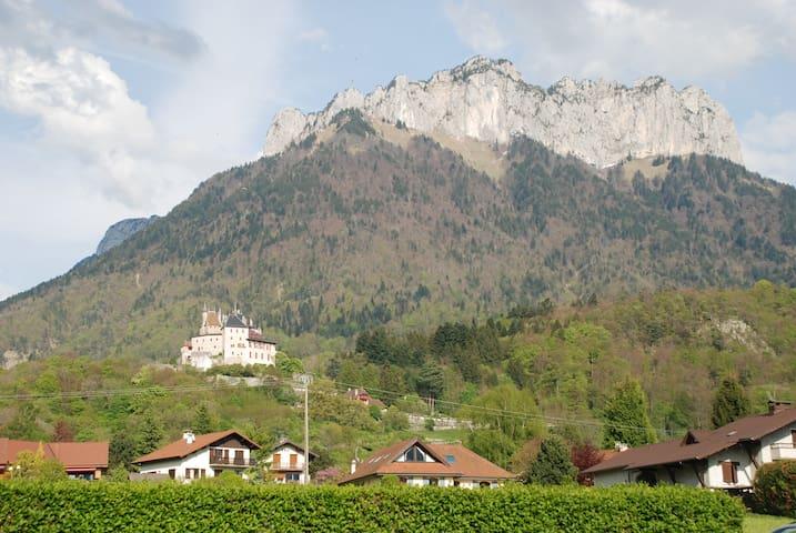 Beau T2 entre lac et montagne - Menthon-Saint-Bernard - Apartament