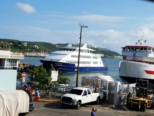 Captain Stateroom across the Ferry - Sleep 2 - Fajardo