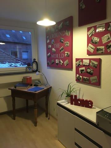 Kleines gemütliches Zimmer in zentraler Lage - Schwabach - Apartmen