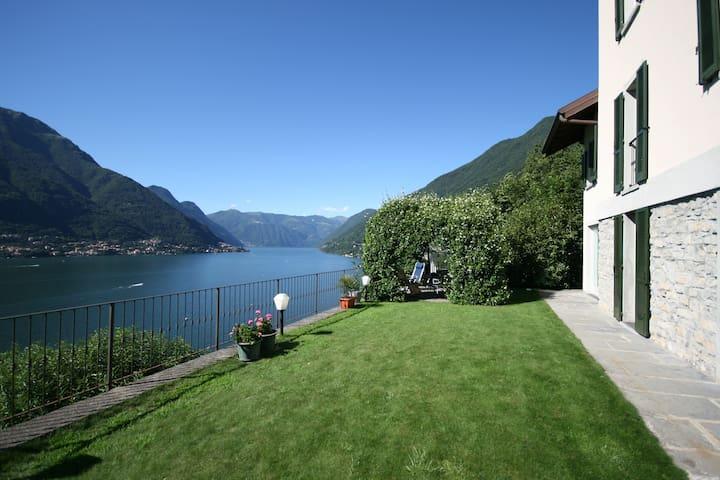 Lake House -View & Garden Lake Como - Faggeto Lario - Leilighet