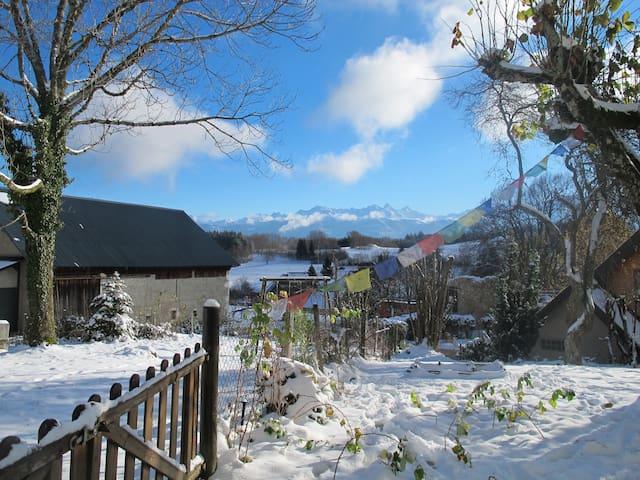 Gîte chaleureux avec jardin - Saint-Hilaire - Leilighet