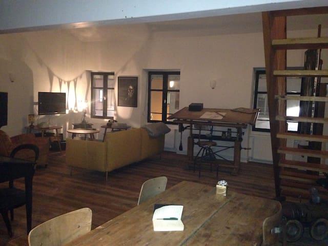 Appartement d'artistes centre ville de Montbrison - Montbrison - Apartamento