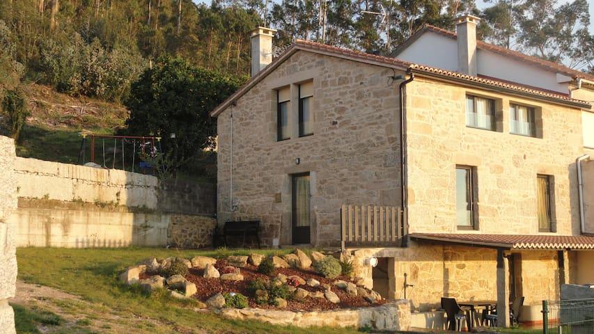 CASA PEDREGUEIRA. Vista Ría Arousa,Mar,Gastronomía - Vilagarcía de Arousa - Rumah