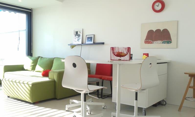 Felújított lakás terasszal/renewed apartm.+terrace - Pécs - Apartamento