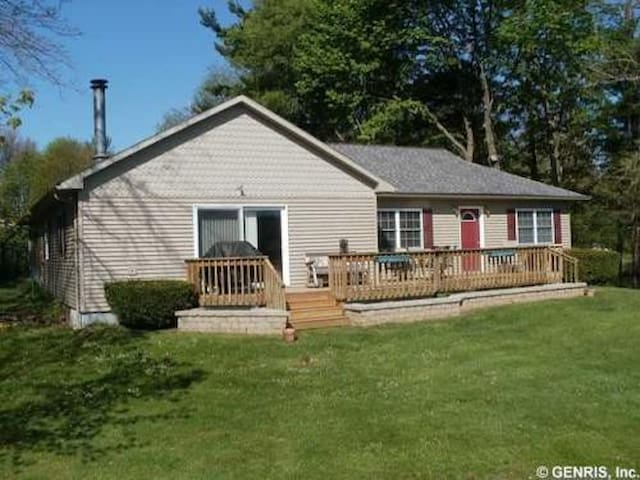 Fingerlakes Country Lakefront Cottage on Loon Lake - Уэйлэнд - Дом