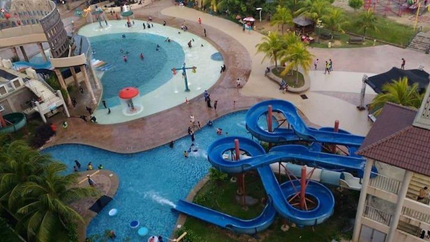 Laman Homestay ( Bayou Lagoon Park Resort ) - Melaka - Lägenhet