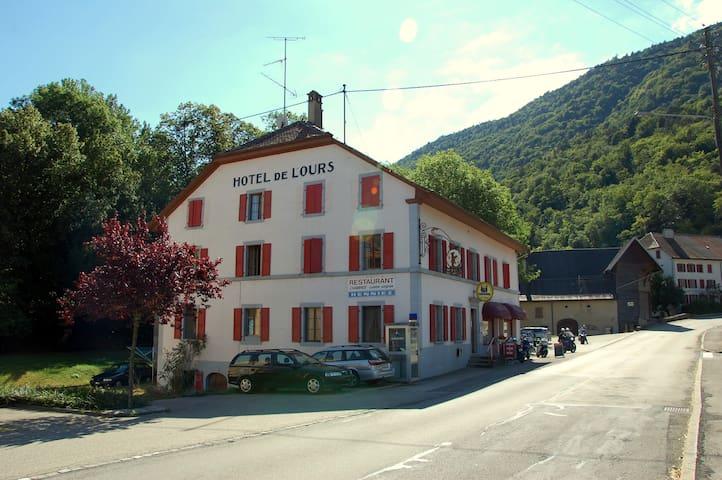 Hotel de l'Ours - Vuiteboeuf, near Yverdon - Vuiteboeuf