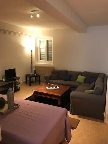 Grand appartement de 80M2 3 chambres avec terrasse - Paray-le-Monial - Appartement