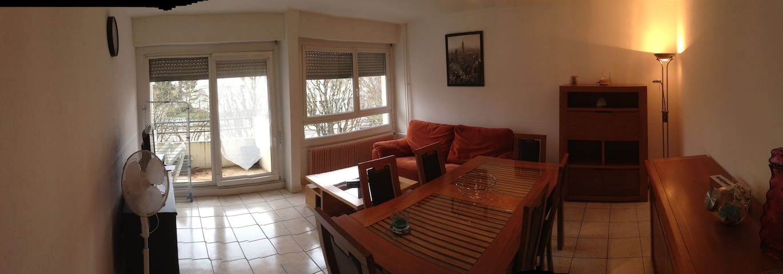 T4 en colocation meublé et équipé - 貝桑松(Besançon) - 公寓