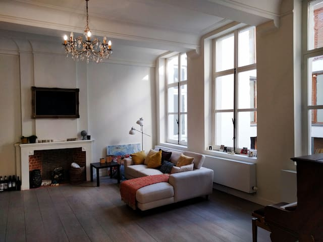 Authentic loft Oudburg/Patershol - Gante - Loft