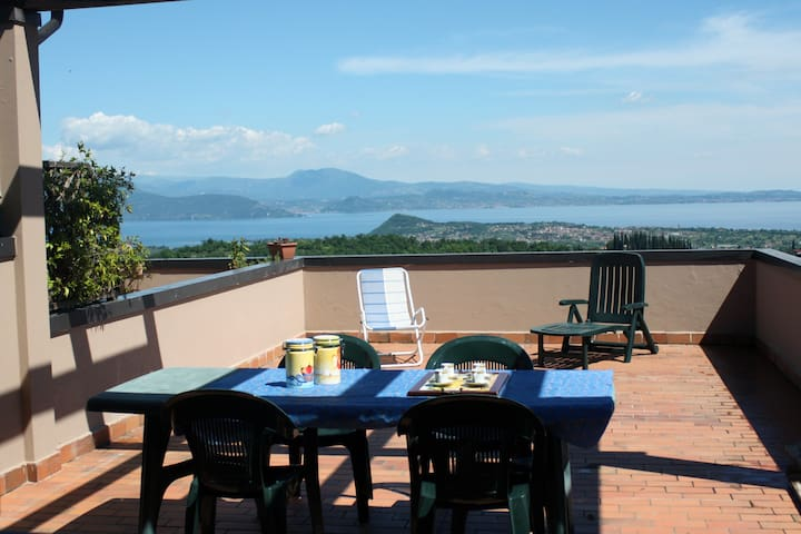 Garda Lake terrace. 7pax, pool - Cassaga - 아파트