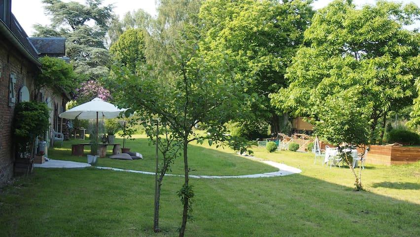 5 Bedroom characterful farmhouse - Carville-Pot-de-Fer - Villa