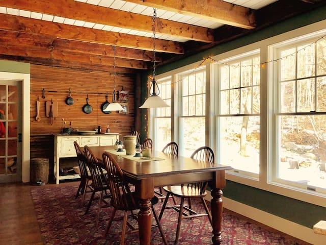 Upscale ski cottage in Waitsfield/Warren, VT - Waitsfield - Hus