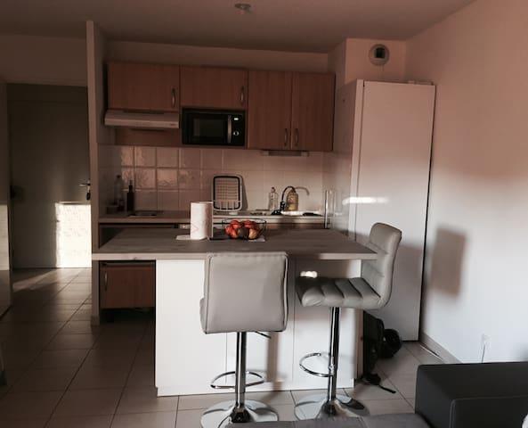 Appartement T2 Moderne - Toulouse - Lägenhet