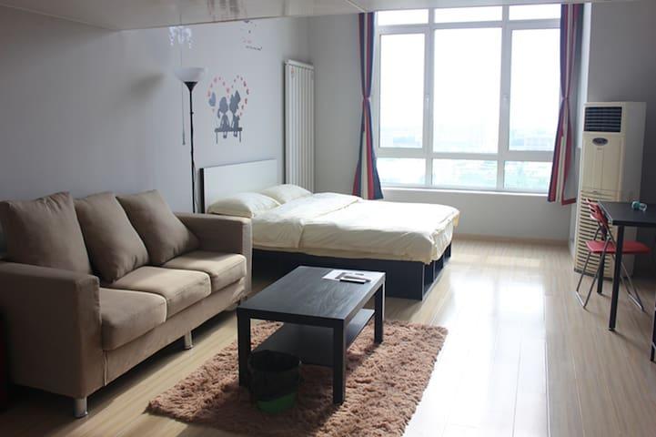 4号线loft双床房 家庭出游首选 让你的旅途不再疲惫 - Beijing - Apartotel