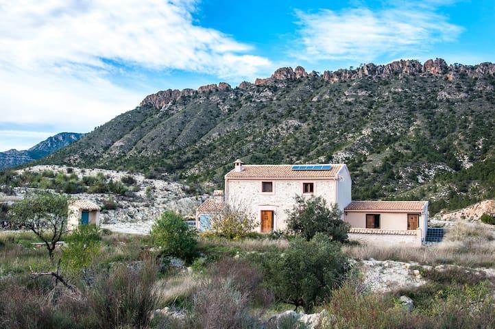 Prachtig vakantiehuis in natuurlijk Spanje - Ricote
