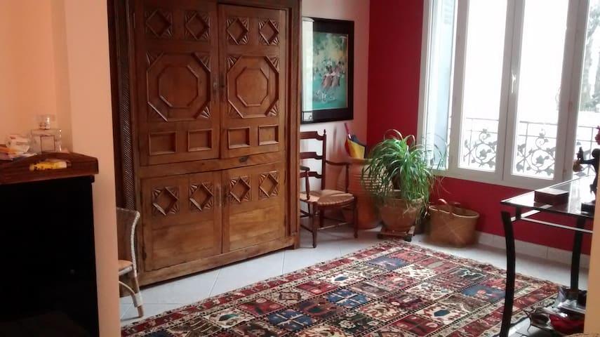 Nogent Maison 90 m2 - 3 chambres - calme - Nogent-sur-Marne - Casa