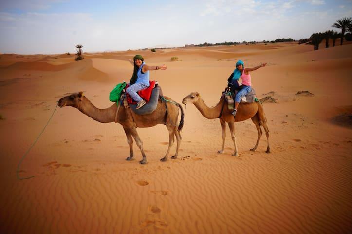 morocco merzouga desert camp - Hassilabied - Casa