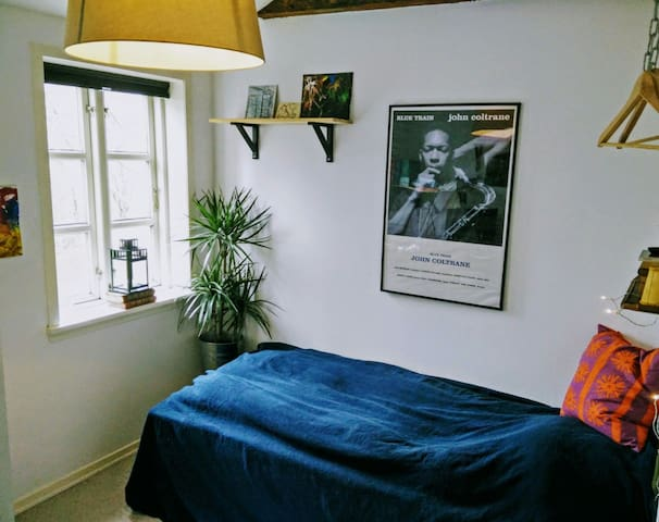 Charming room in Odense C - Odense C - Daire