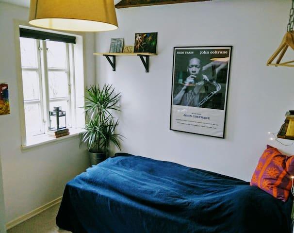 Charming room in Odense C - Odense C - Apartamento