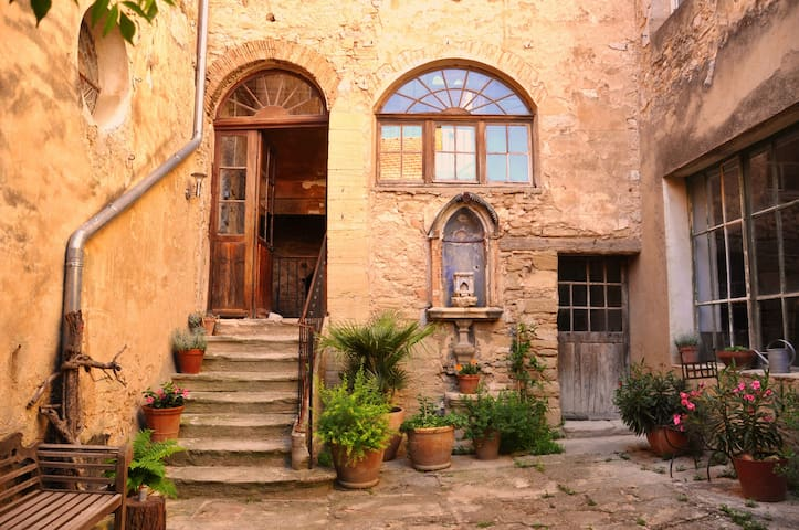 Magical 16th Century Artistic House - Caromb - Ev