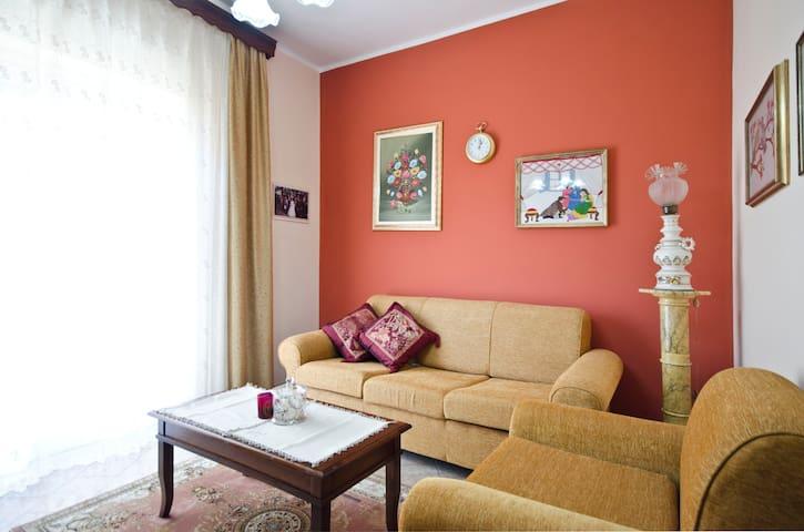 Spacious Apt close to Etna & Taormina - Catania - Daire