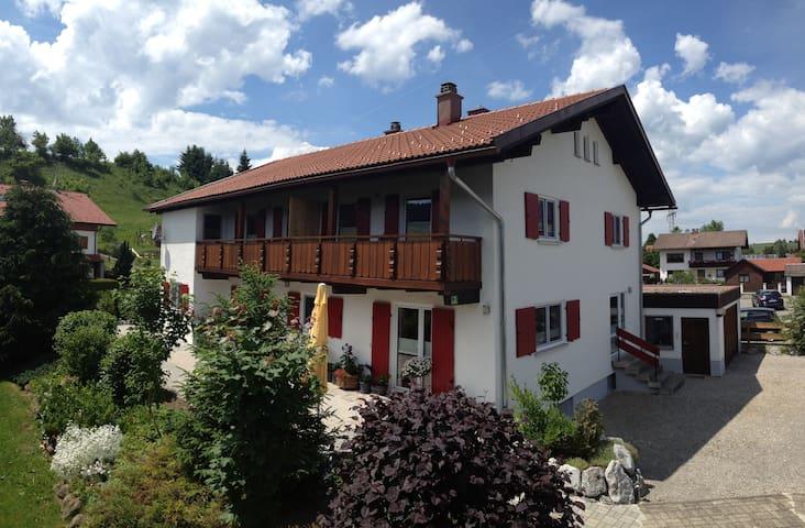 2-room holiday rental apartment, incl. KönigsCard - Nesselwang - Huis