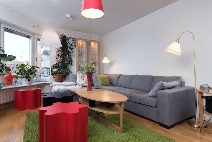 Rum för en eller två mitt i stan - Umeå - Leilighet