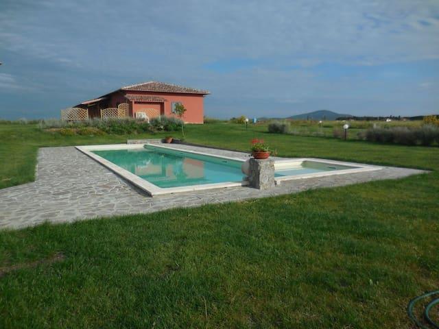 LavandaCountryHouse, app. Tramonto - Pescia Romana - Apartament