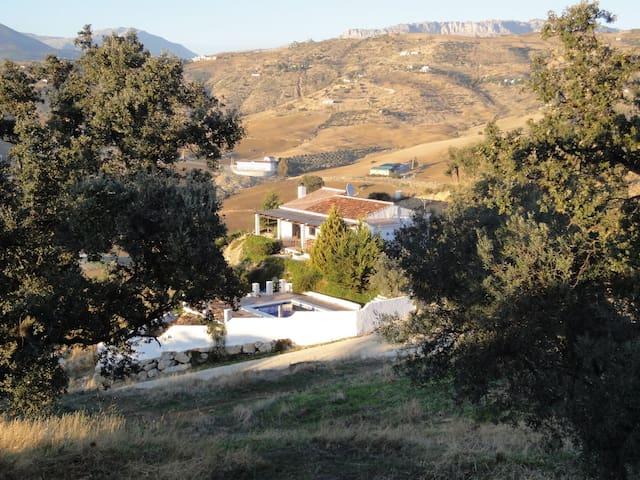 Andalucian finca with private pool, stunning views - Villanueva de la Concepción