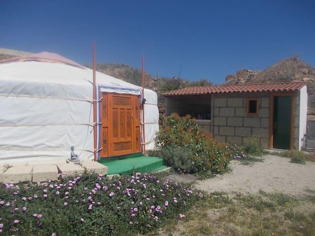 mongolia rural - Granadilla - Iurta