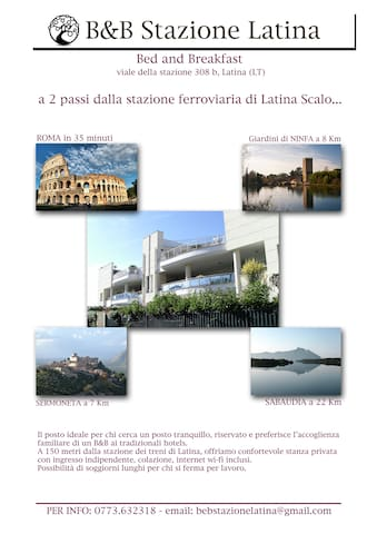 """B&B """"Stazione Latina"""" a due passi dalla stazione.. - Latina Scalo - Pousada"""
