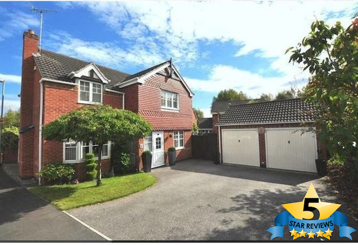 1 (+1) LUXURY Kingsize Bedrooms & Private Bathroom - Burton upon Trent - Rumah