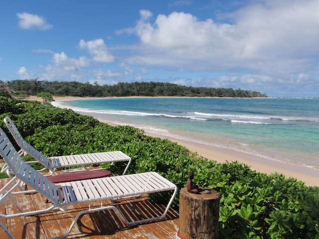 1 BEDROOM ON BEAUTIFUL SANDY BEACH - Laie - Huis