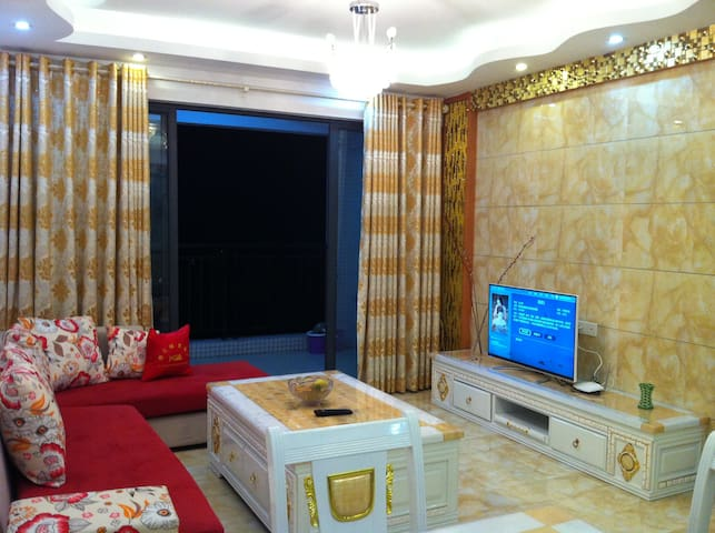 Cozy Apt near bus station,@Nanhai - Foshan - 아파트