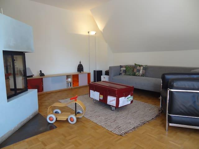 Grosszügige Familienwohnung - Biel - Apartemen