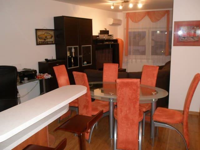 FULLY FURNISHED CITY CENTRE Apartman ★★★★ - Osijek - Departamento