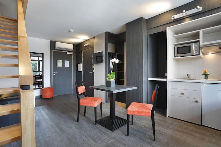 45m2 duplex Apartement with Air condioning - Illkirch-Graffenstaden - Lägenhet