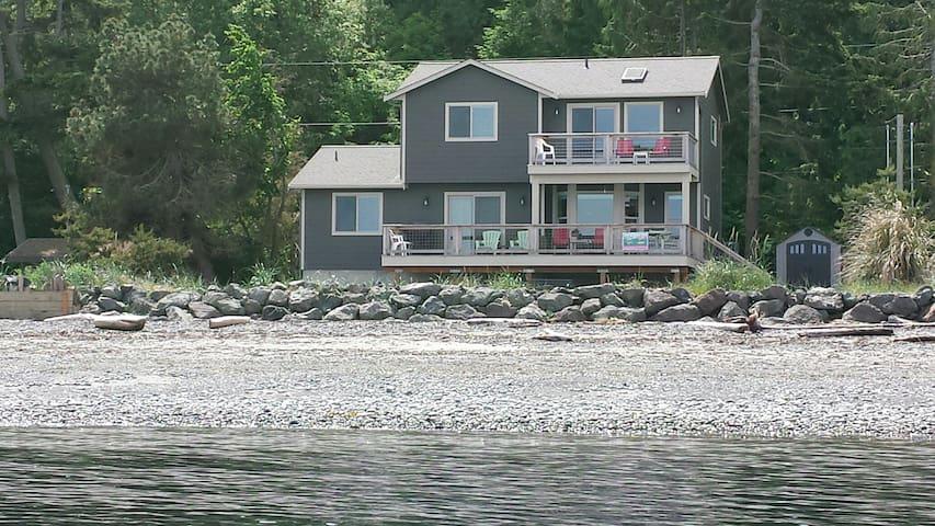 Beachfront Facin Protection Is@ Diamond Pt New Hom - Sequim - House