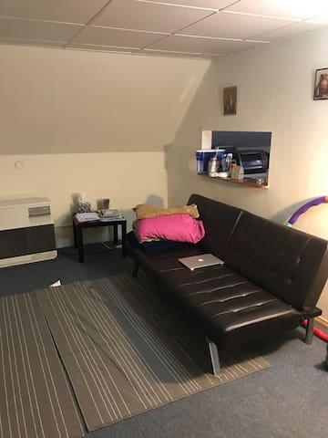 Cozy clean 1bd apartment - Potsdam - Daire