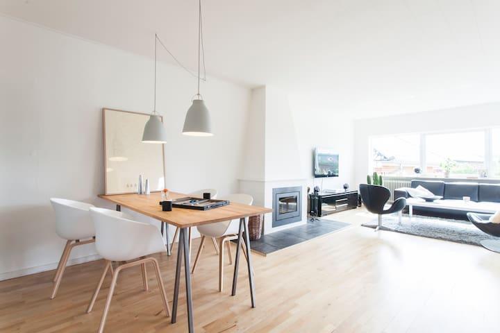 Amazing house with green garden. - Aarhus - Rumah