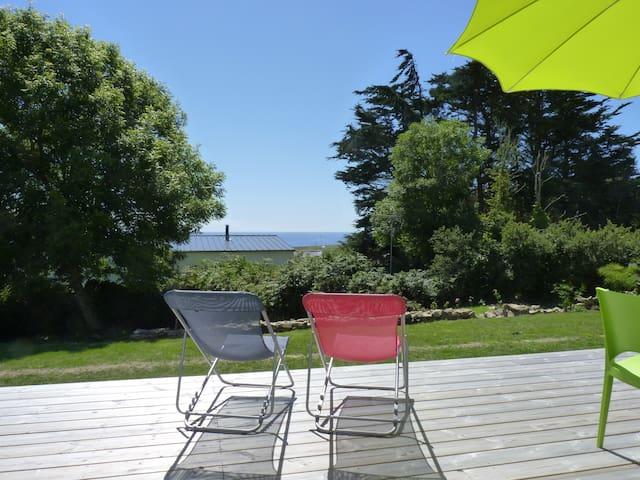 maison vue mer - Plogoff - Huis